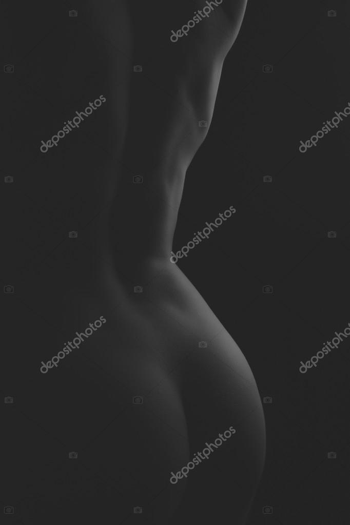 Снимок Простой Обнаженной Женщины Без Лица