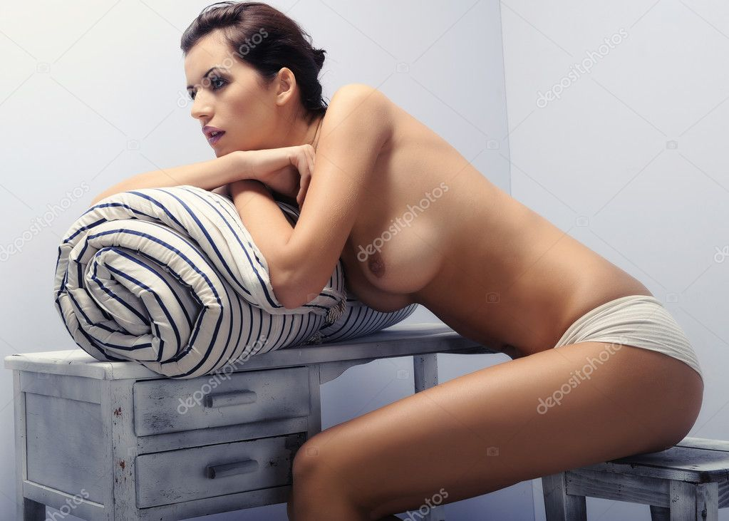 Sensual Woman With Perfect Sexy Legs Stock Claudio Kitty-kats 1